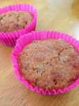 Rhubarb and Cashew Muffins