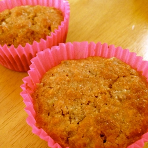 Rhubarb and Cashew Muffins from Janella Purcell