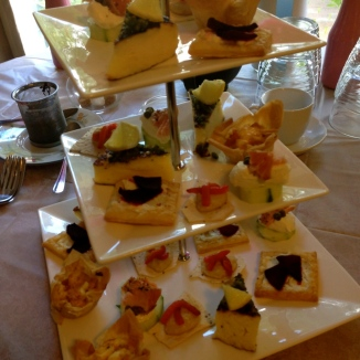 High Tea Savoury Service