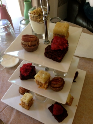 High Tea Sweet Service