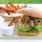 IQS Thai Chicken Burger