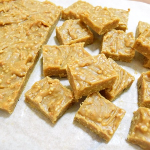 The fabulous I Quit Sugar peanut butter fudge. Gimme.