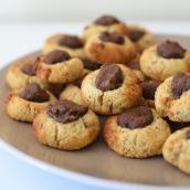 Hazelnut Nut-Ella Biscuits