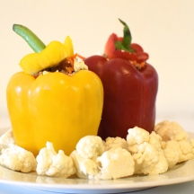 Stuffed Roasted Capsicum