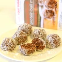 IQS Chia Cacao Protein Balls