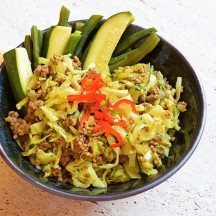 Jo's Curried Mince