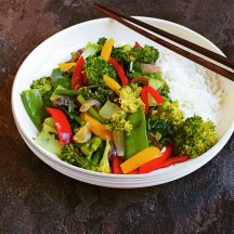 Lime and Ginger Stirfry