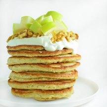 coconut fluff pancakes