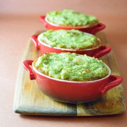 Lamb Shepherd's Pie with Broccoli Hash Mash