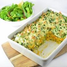 veggie lasagne with ricotta