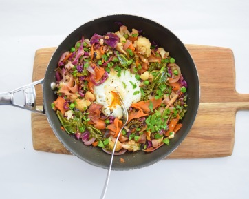 'Last night's dinner with an egg in it' from Simplicious