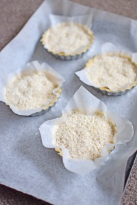 Blind-baking