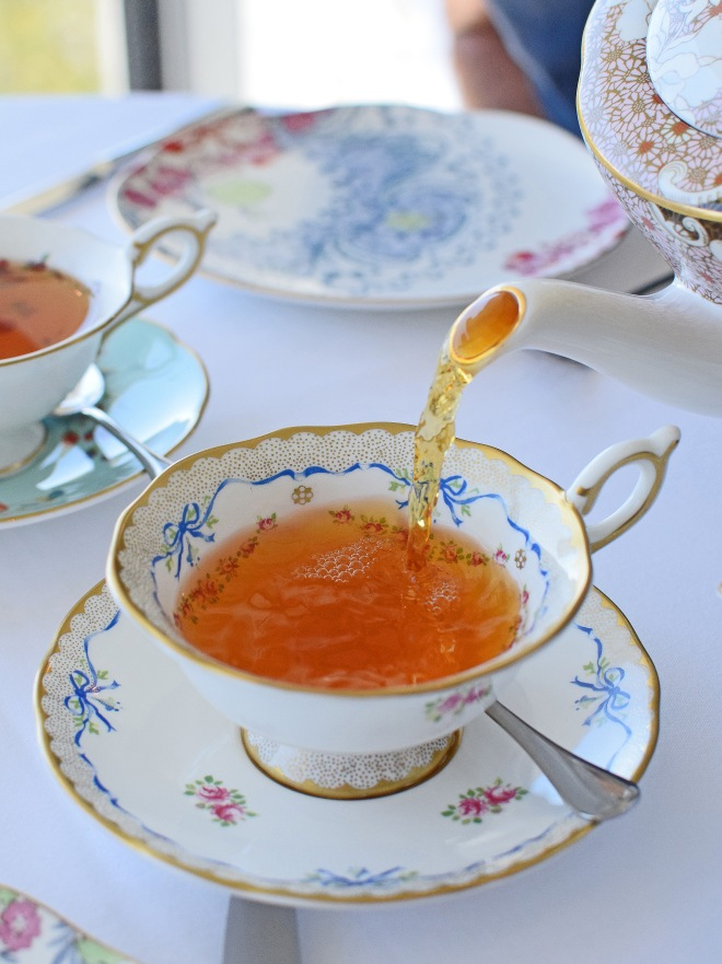 Wedgwood Tea Blend, on Wedgwood crockery