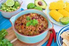 Veggie-Charged Chilli Con Carne