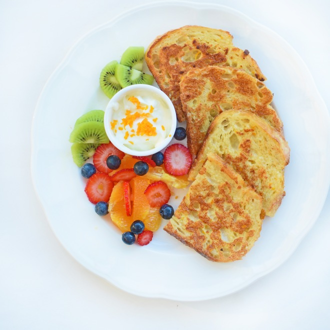 Zesty Orange French Toast