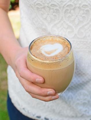 Salted Caramel Cardamom Coffee from Simplicious
