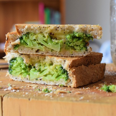 Broccoli and Cheese Melt from Simplicious