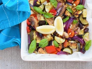 Baked Mediterranean Summer Sardines from Simplicious
