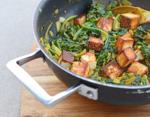 Green Saag Paneer from Simplicious