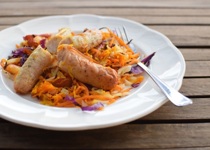 Kimchi Chicken Choucroute from Simplicious