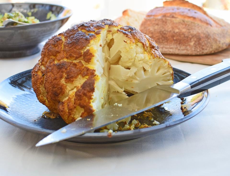 Israeli Whole-Baked Cauliflower